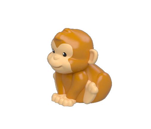 monkey 3-4 b